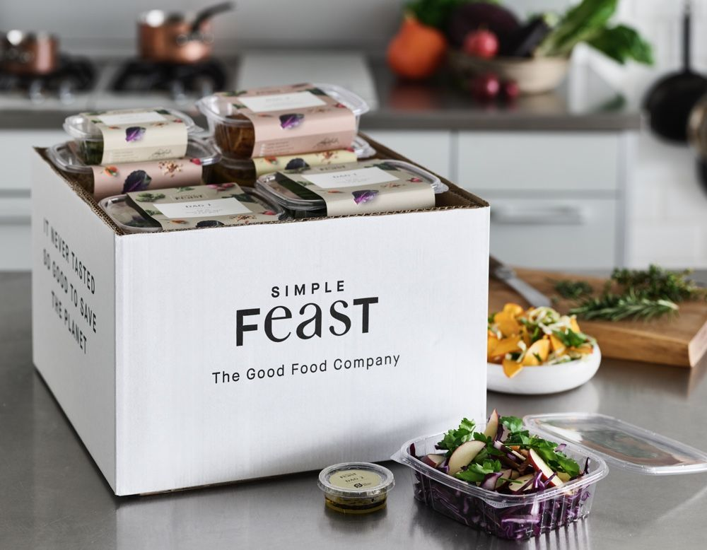Köp matkasse Simple Feast Vegetarisk box